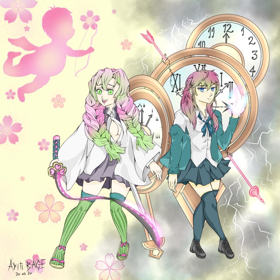 Kimetsu no yaiba X unORDINARY Illust of DouXoN KimetsunoYaiba anime UnOrdinary medibangpaint
