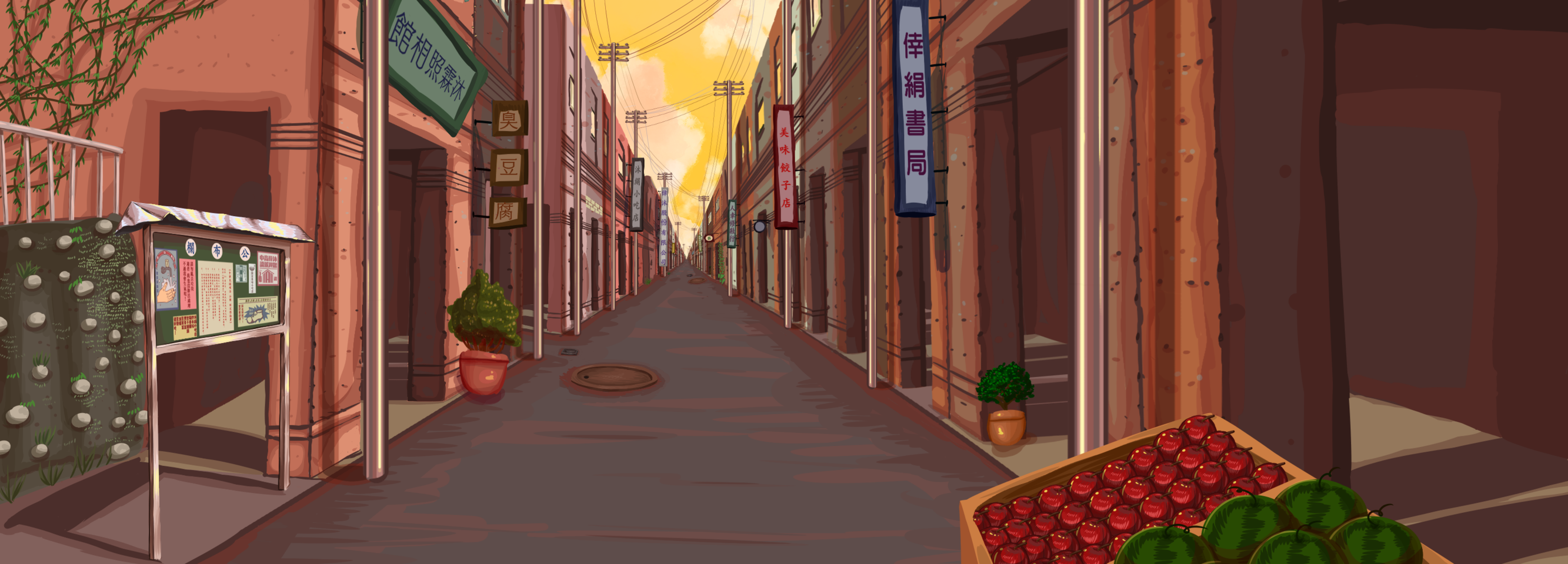 懷舊街景2 Illust of 派CP ARTstreet_Ranking medibangpaint