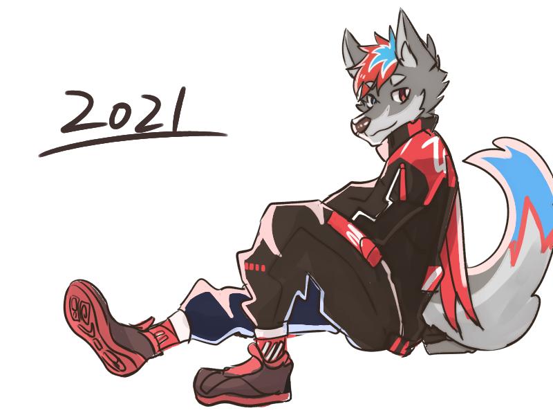 年 Illust of 肯尼吉 January2021_Contest:OC 獸人 wolf furry
