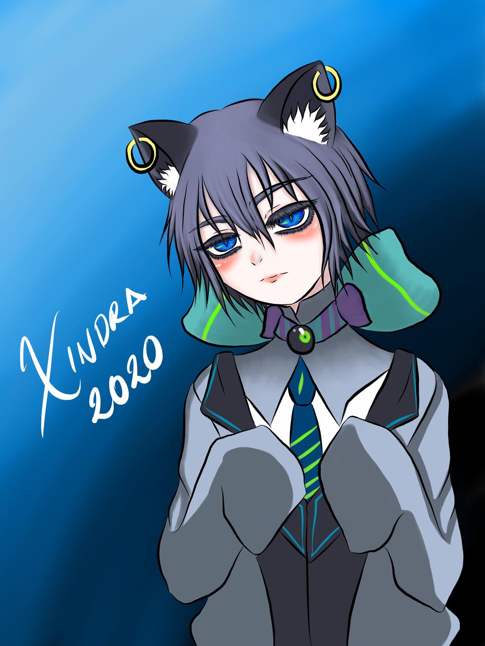 Neko-Boy Illust of XinSan Nekoboy cat_ears Neko-boy medibangpaint