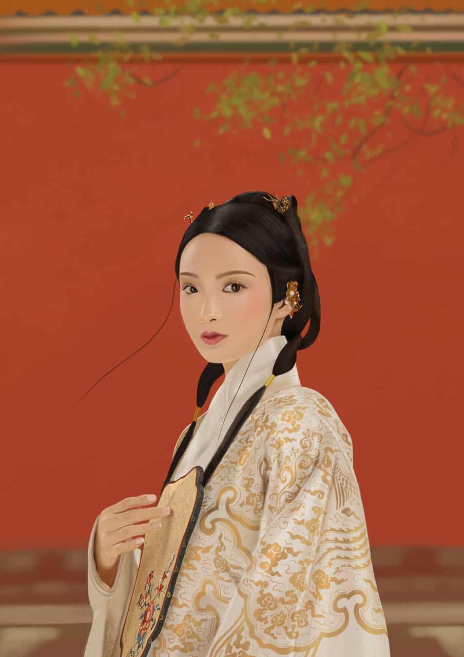 古装故宫 Illust of nata brag.your.country 美女 中国 故宫 文化