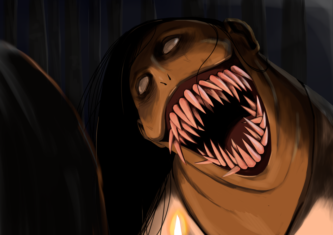 PONTIANAK Illust of Perfectsword August2020_Contest:Horror vampire