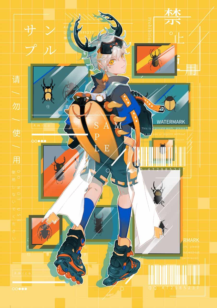 Illust of Amico original characterdesign