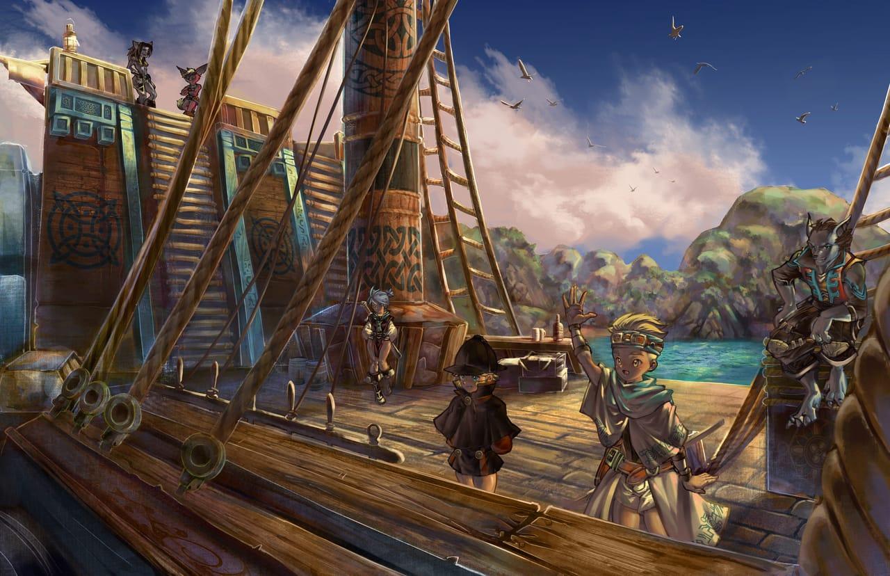 出航 Illust of Just scenery rpg furry