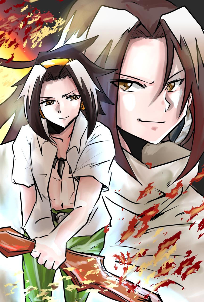 シャーマンキング Illust of 青山惟月 illustration fanfic SHAMANKING fanart