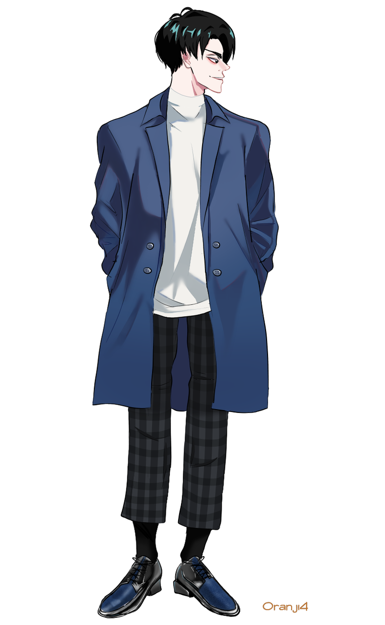 S.K Illust of Mimuroto medibangpaint anime drawing illustration boy