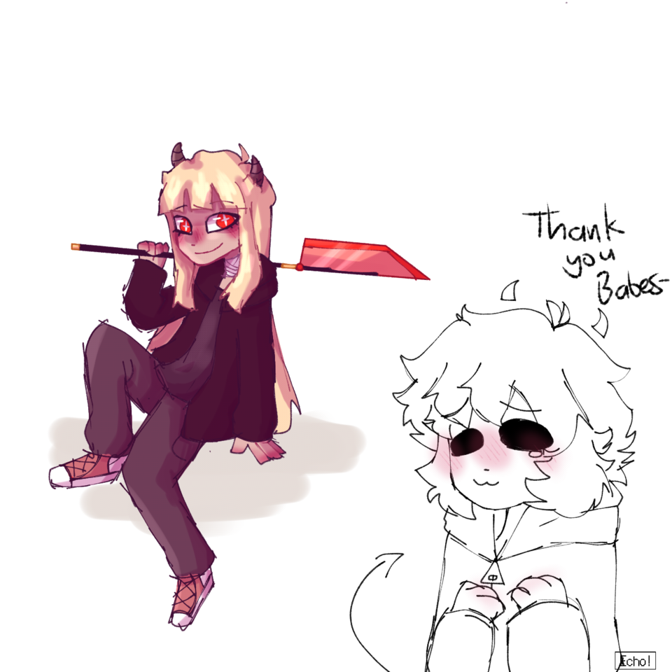 Gift | special thank you  Illust of Plasters Echo!