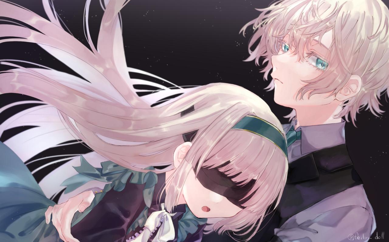 双子 Illust of 白檻エル original girl this boy is wow, awesome