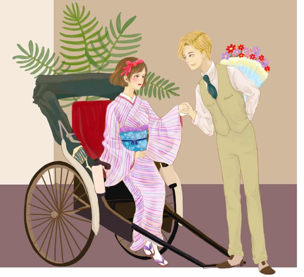 『摩登之戀』 # Illust of Hailey YU kyoto-illust2019