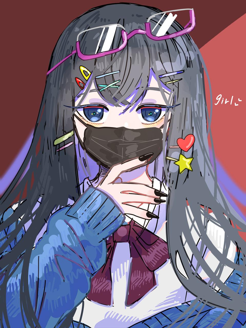 girl Illust of はねづ medibangpaint girl レッツワンドロ original
