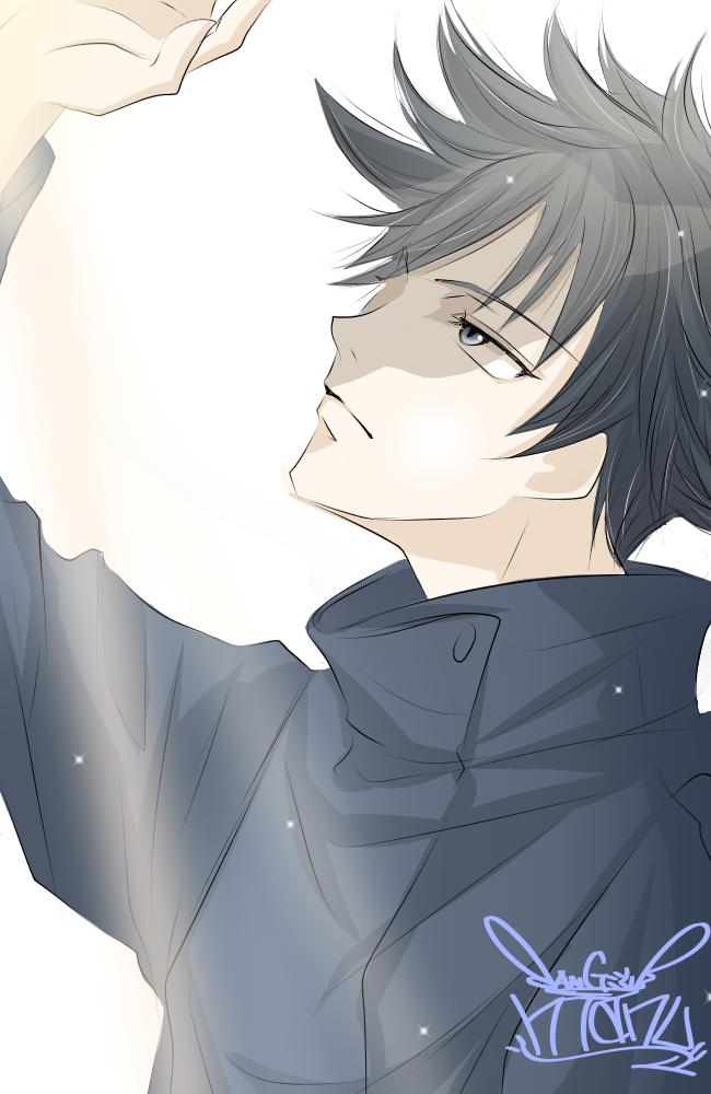 呪術廻戦♪      日差しと伏黒kun♪ Illust of Manu medibangpaint カラー JujutsuKaisen digital illustration Megumi_Fushiguro color