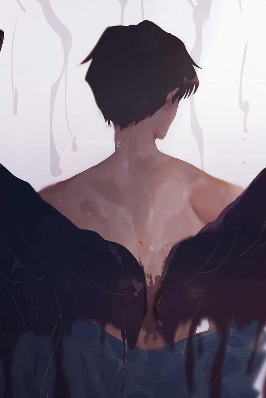 kim taehyung   bts (wings)