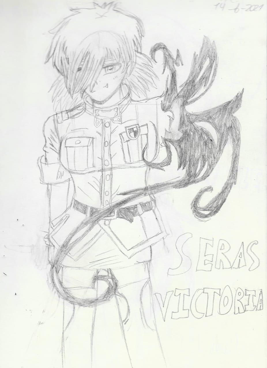Seras Victoria Illust of Lil devil SerasVictoria HellsingUltimate