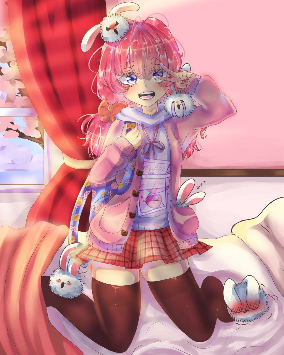 A ditz Illust of AwkwardTobi ARTstreet_Ranking art illustration MyArt oc anime sketch kawaii cute