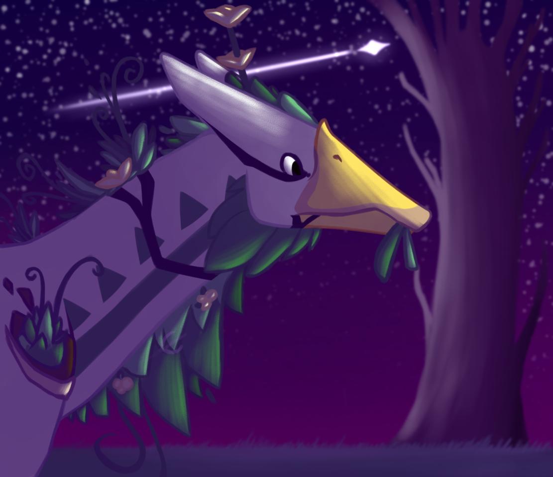 filler Illust of Faven CreaturesOfSonaria