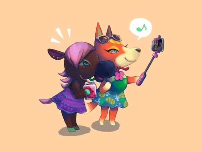 どうぶつの森まとめ Illust of momo* あつまれどうぶつの森 AnimalCrossing あつ森
