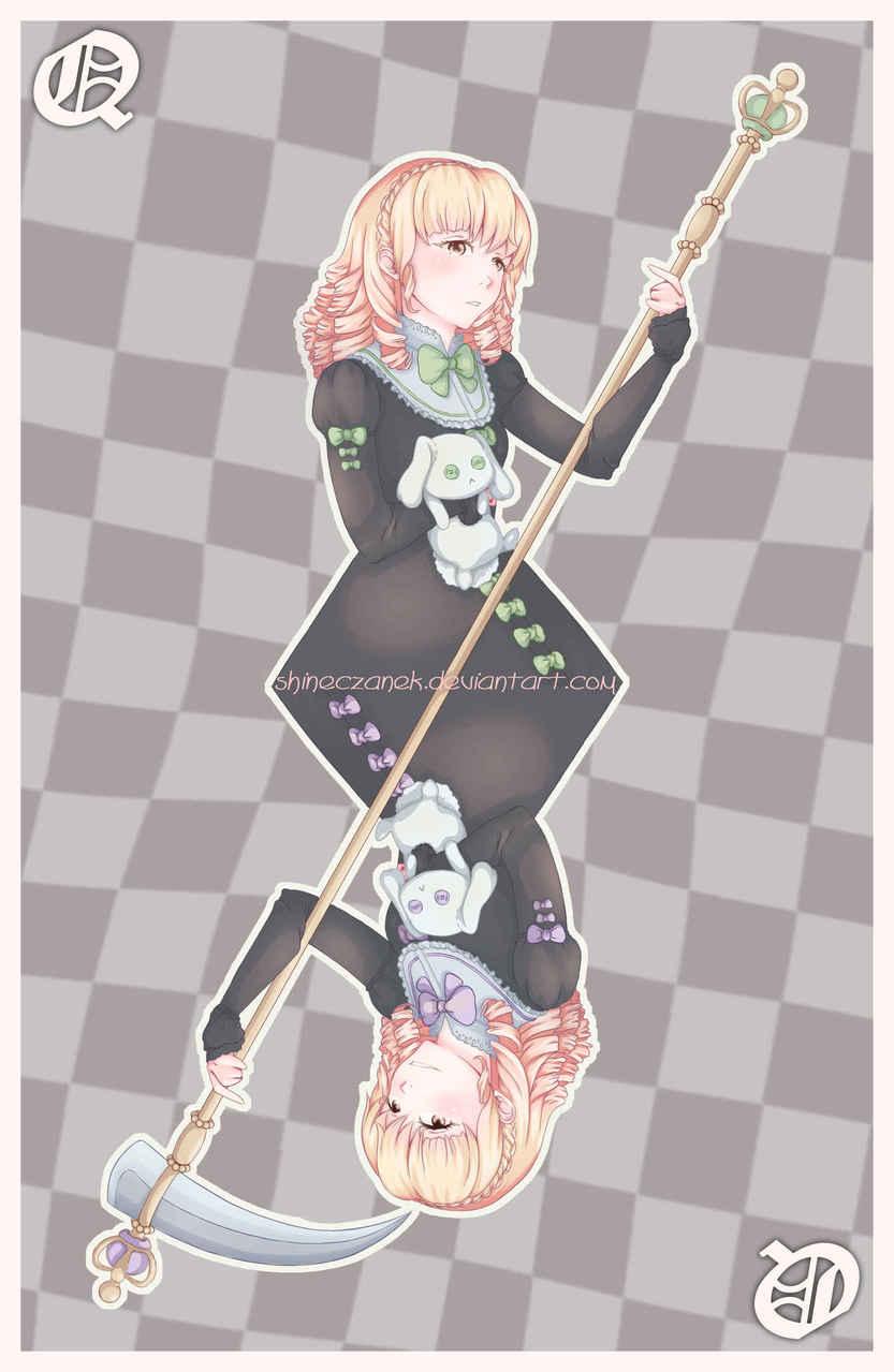 Queens Psychopaths  Illust of Czanek anime animedraw girl digitaldraw medibang manga drawing psycho madibangpaint girls