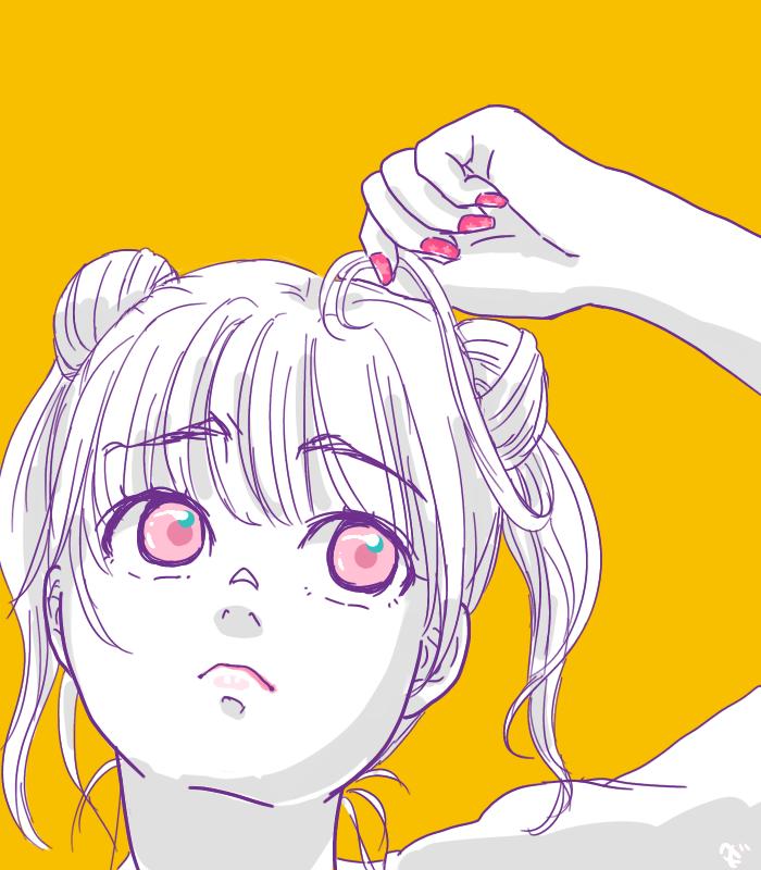 うさぎちゃんの髪型