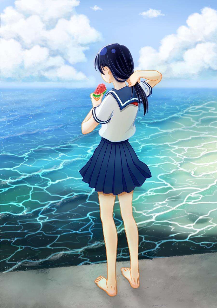 夏天 Illust of 青青 April.2020Contest:Color 藍色