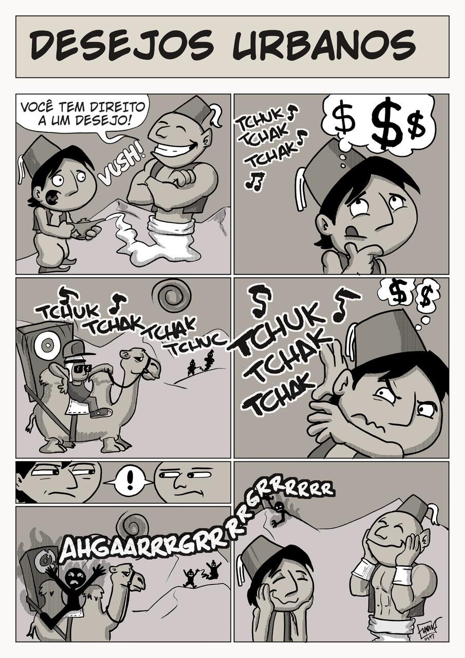desejos urbanos 1 (Urban wishes) Illust of Elton medibangpaint Comics illustration