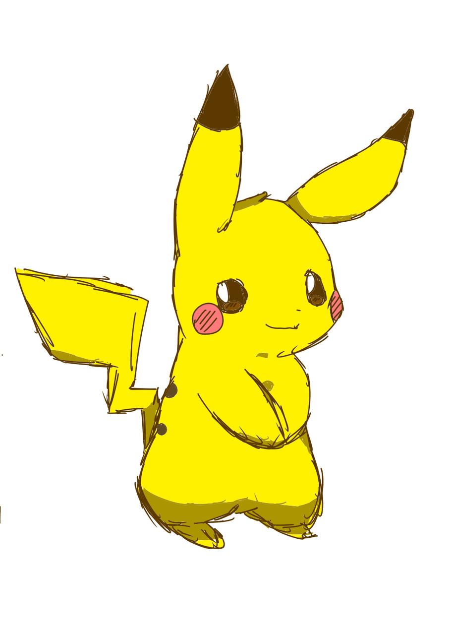 ピカチュウ Illust of 별페니 옹 character pokemon