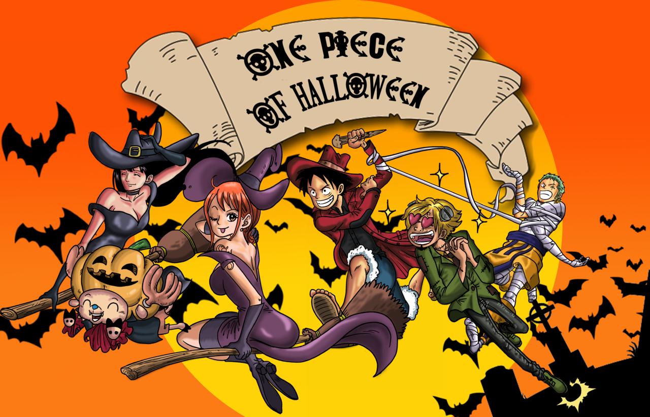 one piece of halloween