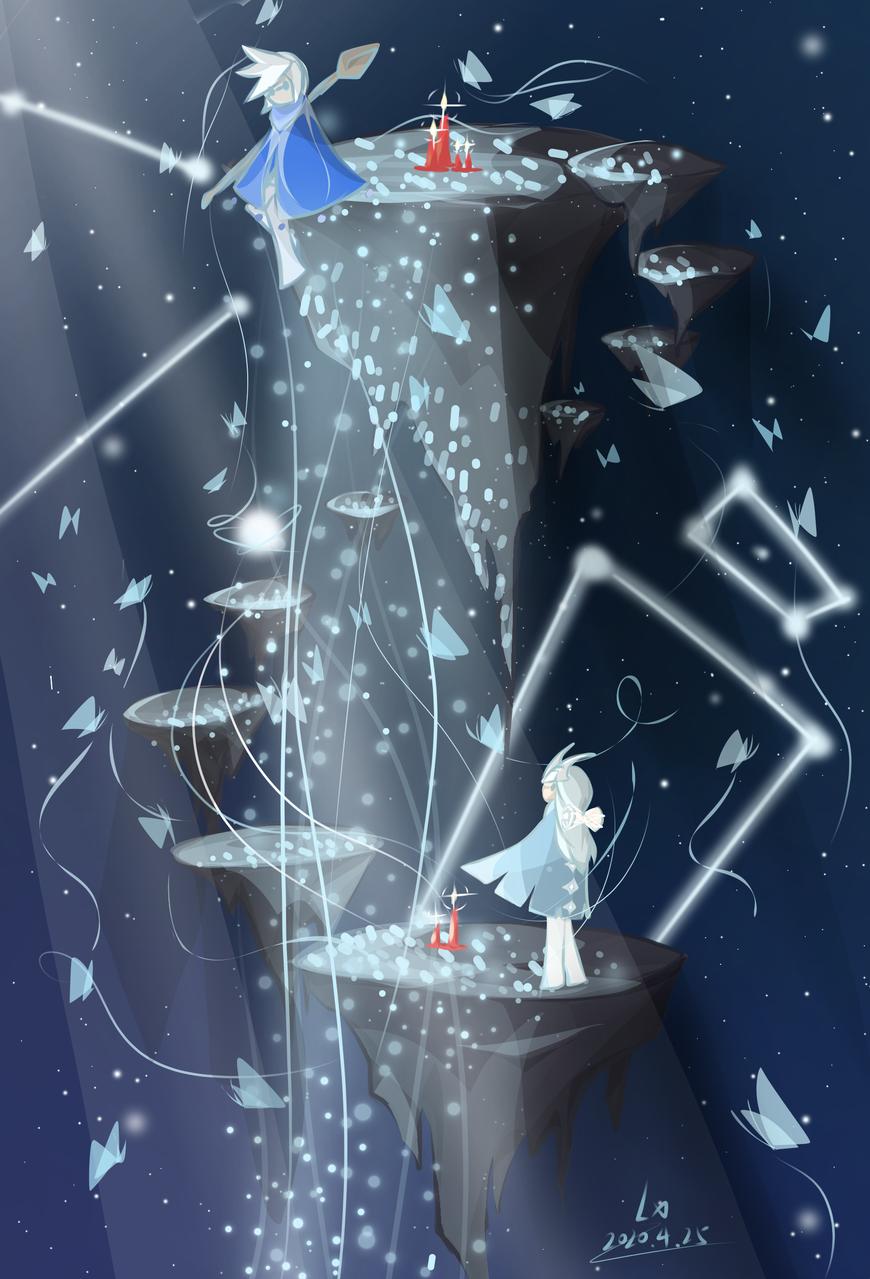 Sky Illust of 怜雪 medibangpaint