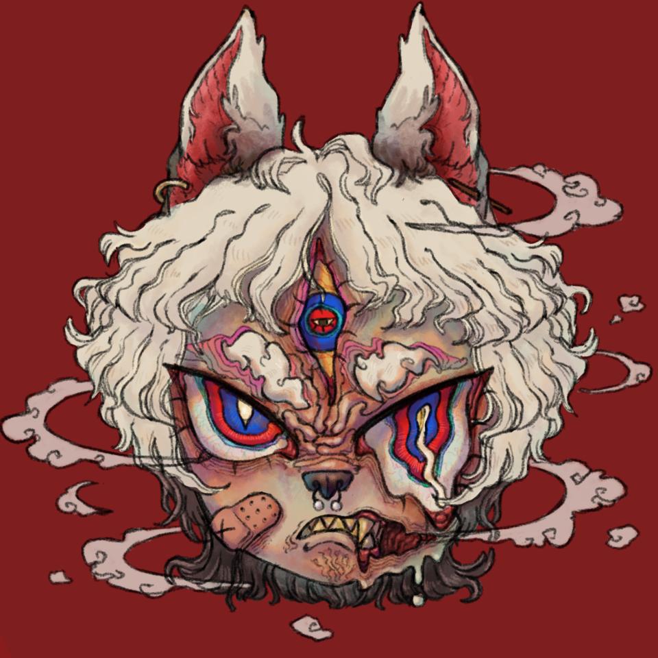 werewolf Illust of sugarmeat125 September2020_Contest:Furry Werewolf medibangpaint furry