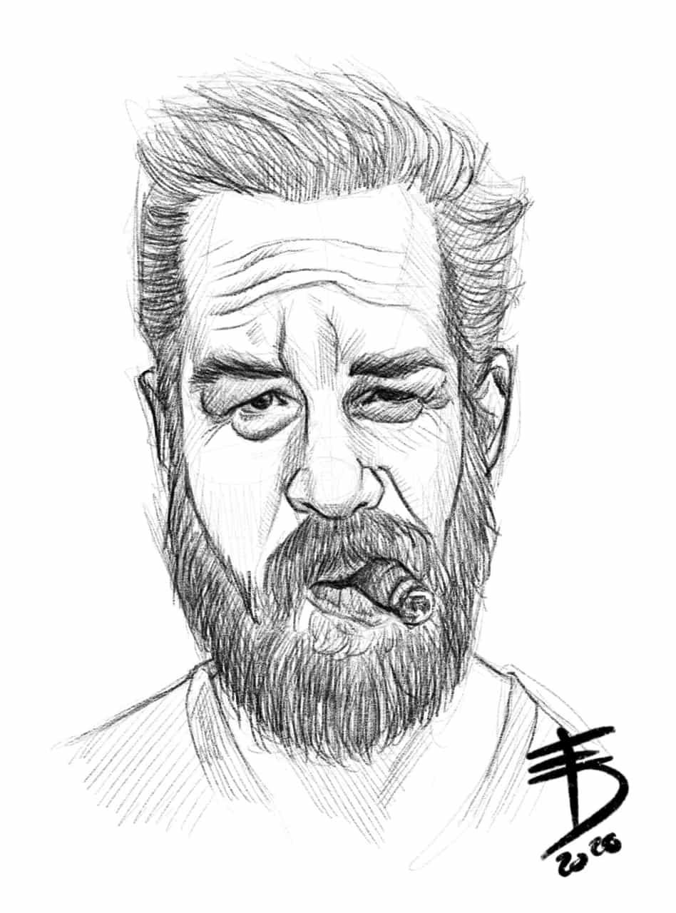 Tom Hardy  Illust of Derwelt sci-fi art Drawings drawing portrait oc character sketch Artwork medibang medibangpaint