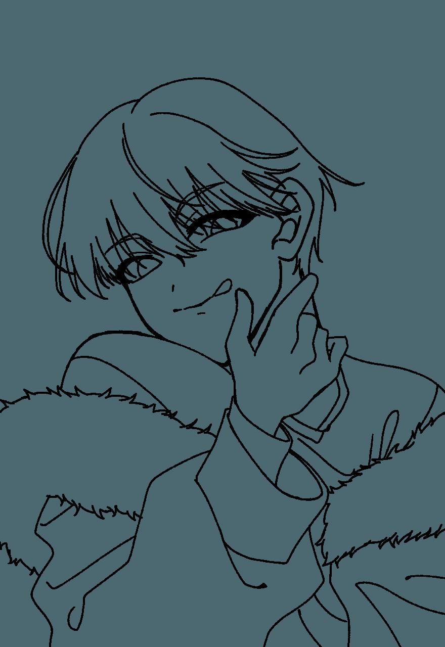 酔いッピ(フリー線画) Illust of fayuri * フリー線画 ○○の主役は我々だ! ショッピ