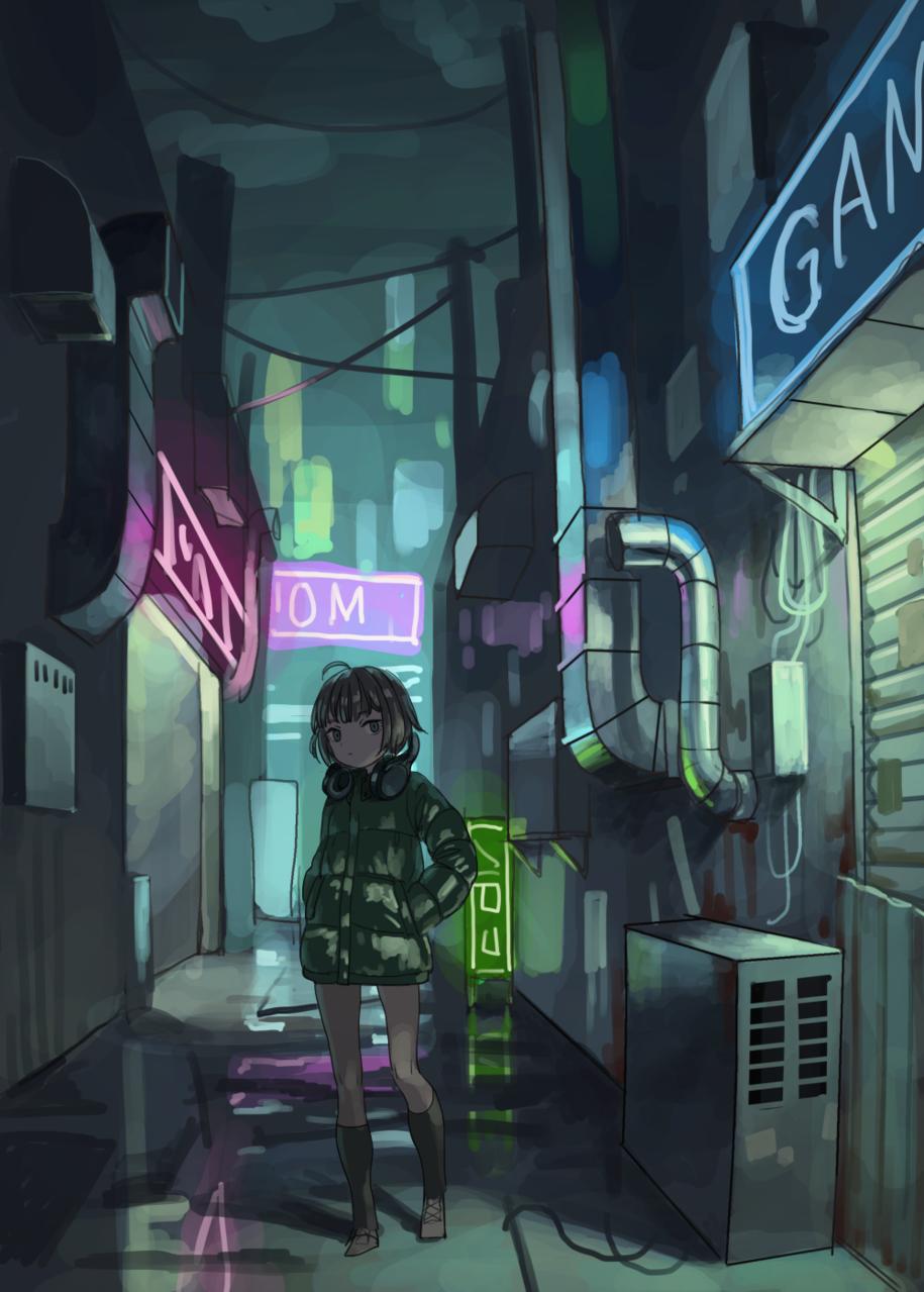 Illust of tnsn November2020_Contest:Cyberpunk