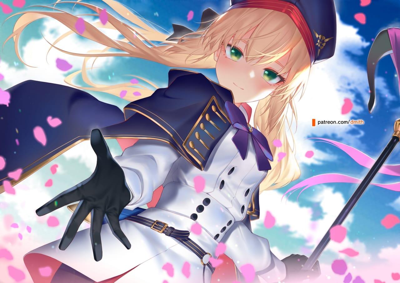ARTORIA CASTER Illust of DMiTH Artoria Fate Fate/GrandOrder
