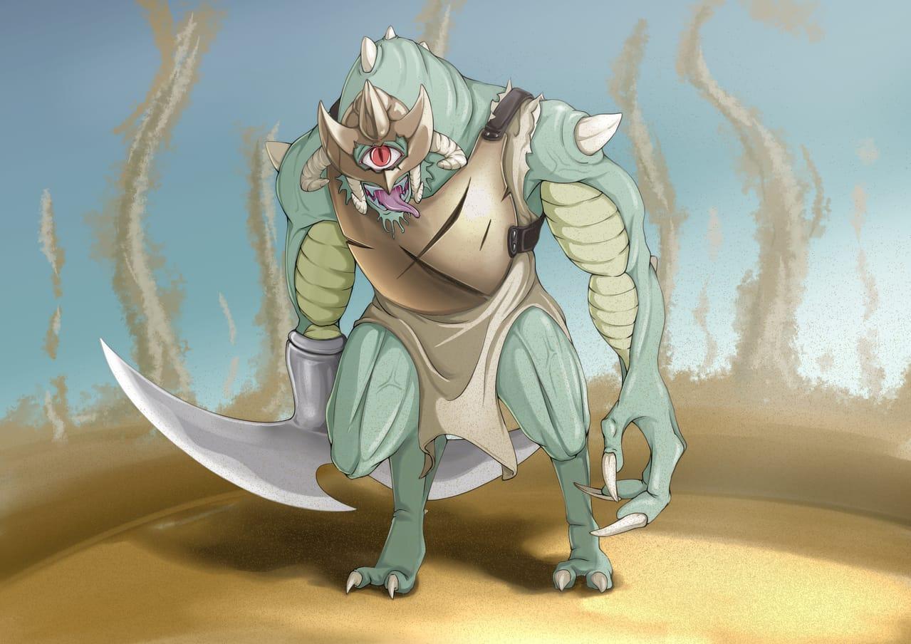 独眼巨人 Illust of bantoumingx March2021_Creature