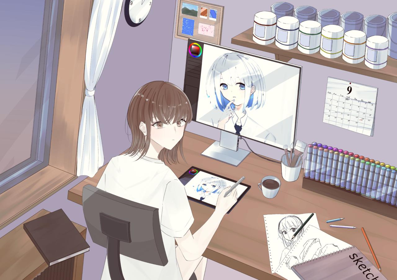 日常 Illust of アヅサ HUAWEIイラスト&マンガコンテスト HUAWEIイラスト&マンガコンテスト:イラスト部門