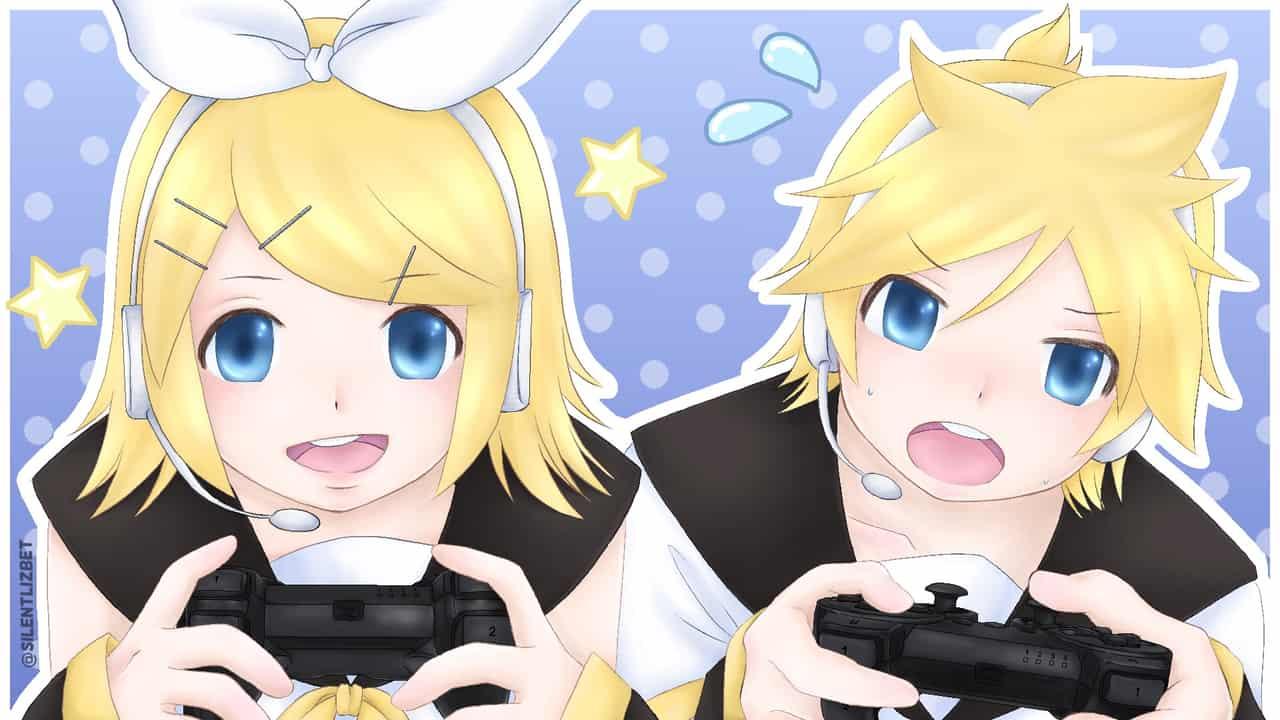 Kagamine Rin & Len --Game Time--