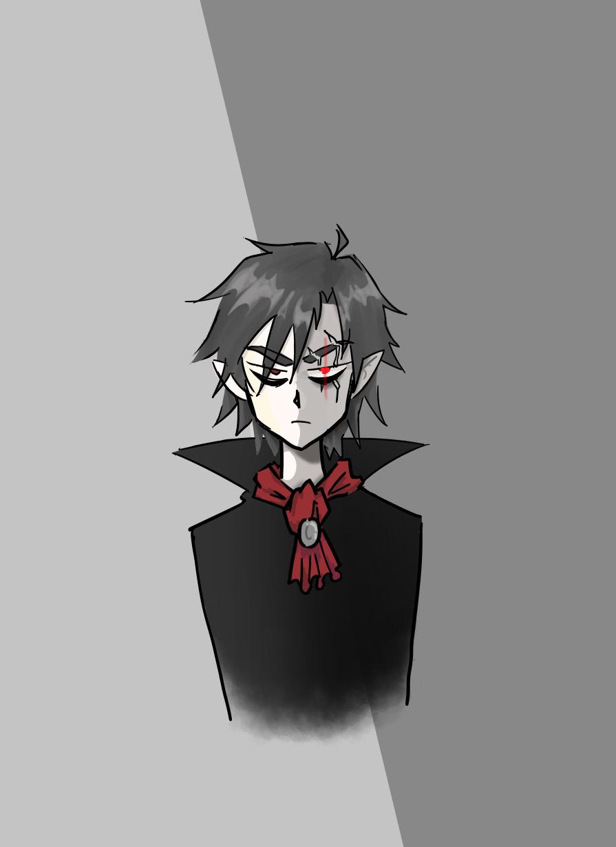 Just a lil vampire boi Illust of SH523 medibangpaint