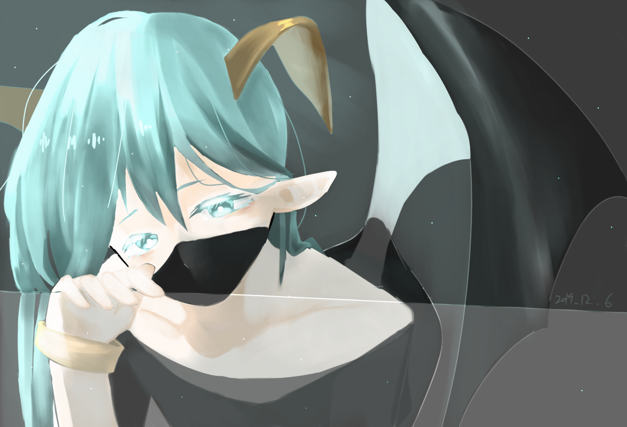 Illust of ( ・᷄ὢ・᷅ )
