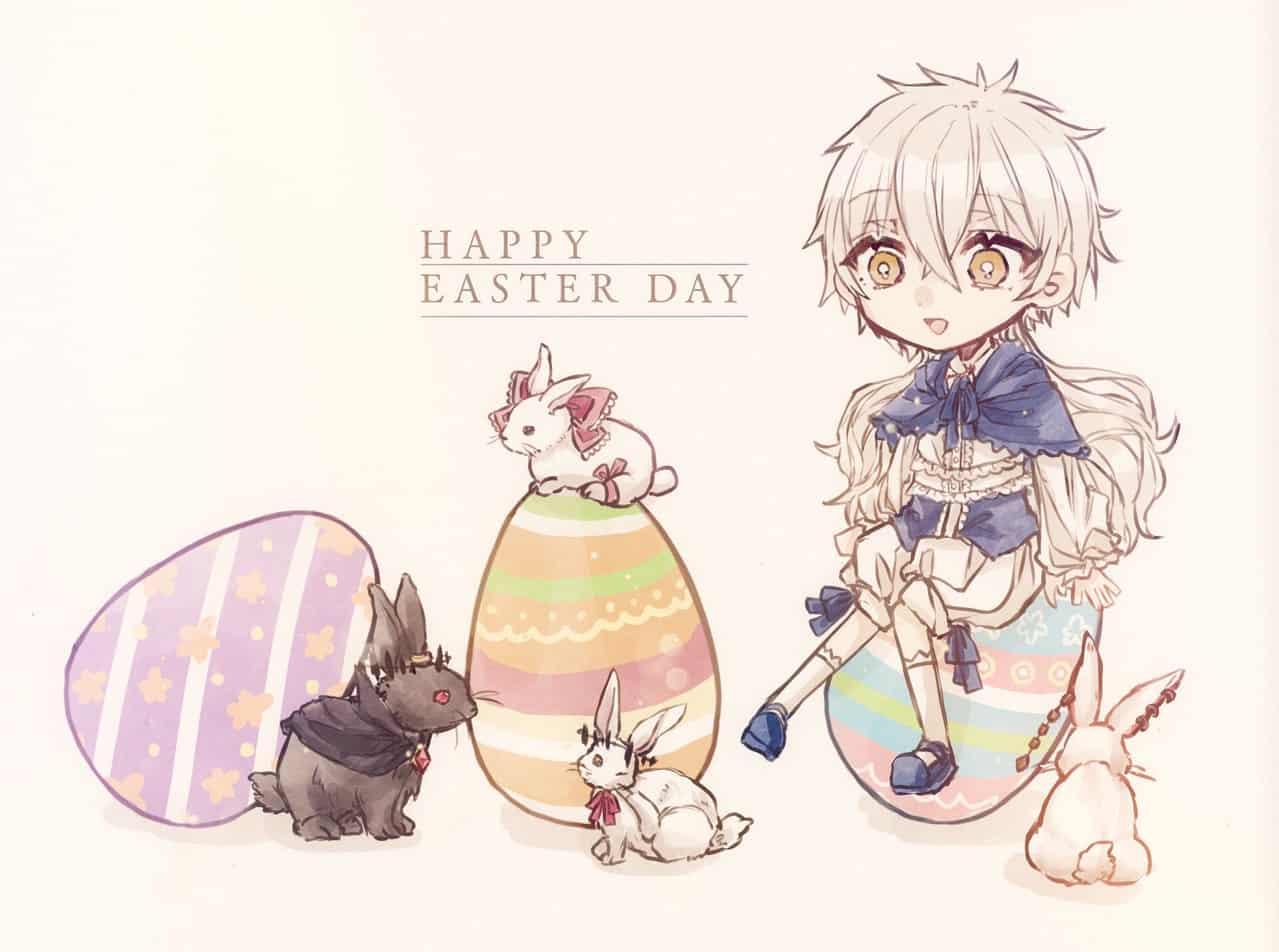 ハッピーイースター! Illust of myk March.2020Contest:Easter medibangpaint illustration のえるのお絵かき oc original イースター