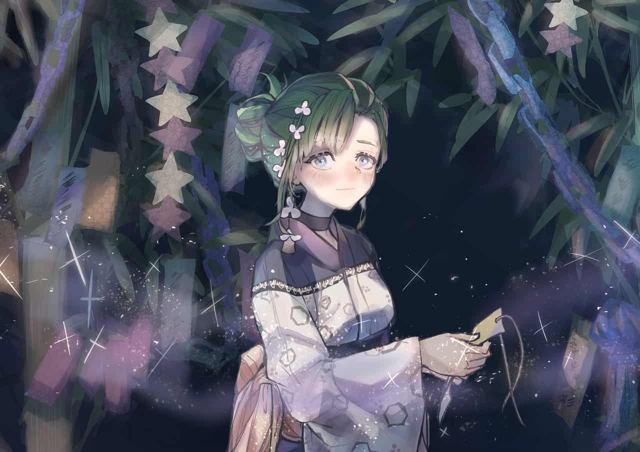 待ち人きたる Illust of さかしょうどん 七夕 girl original