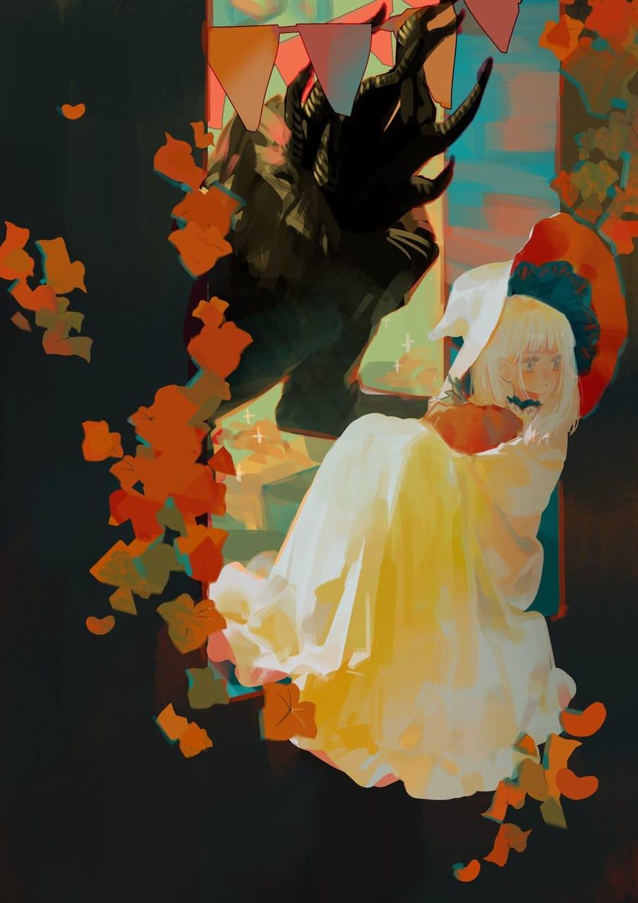 - Illust of ilion oc girl original