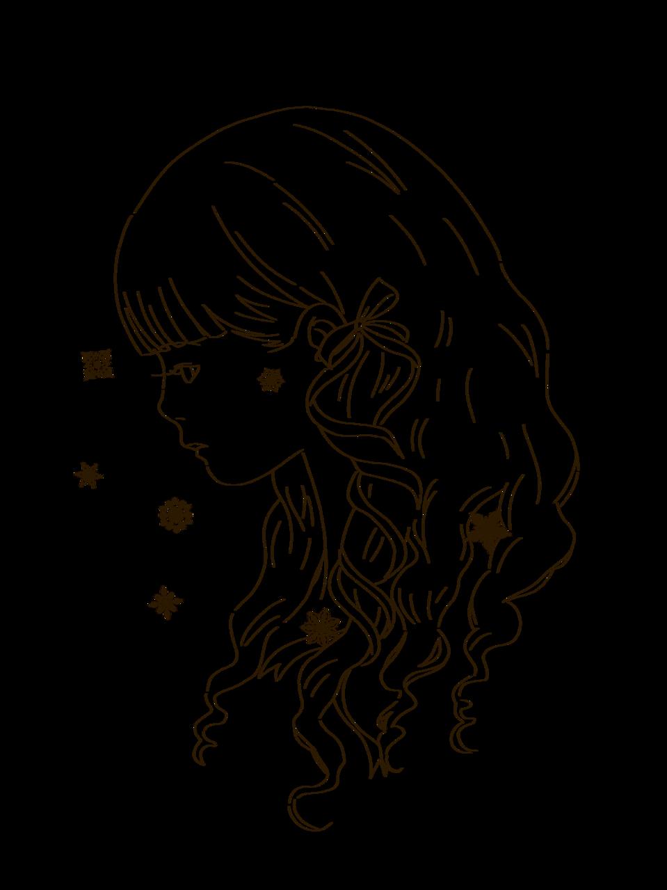 横顔 Illust of 桜 宮美/サブ 水彩風 watercolor 桜宮美 line_art