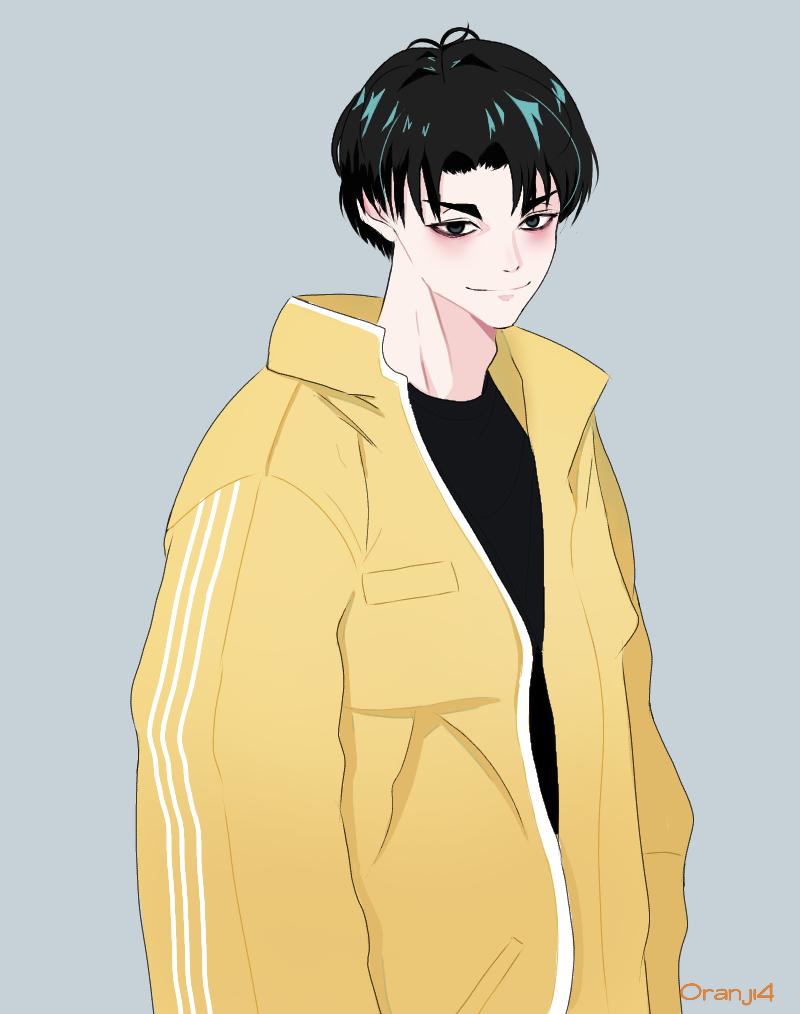 Kai  06.09.2019 Illust of Mimuroto medibangpaint illustration boy anime
