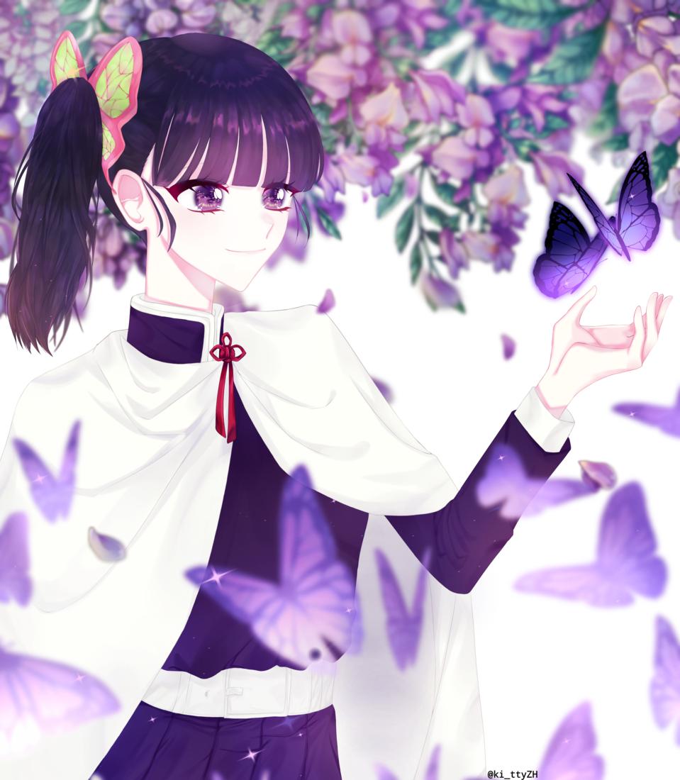 帰滅の刃 Illust of kitty DemonSlayerFanartContest KimetsunoYaiba TsuyuriKanao