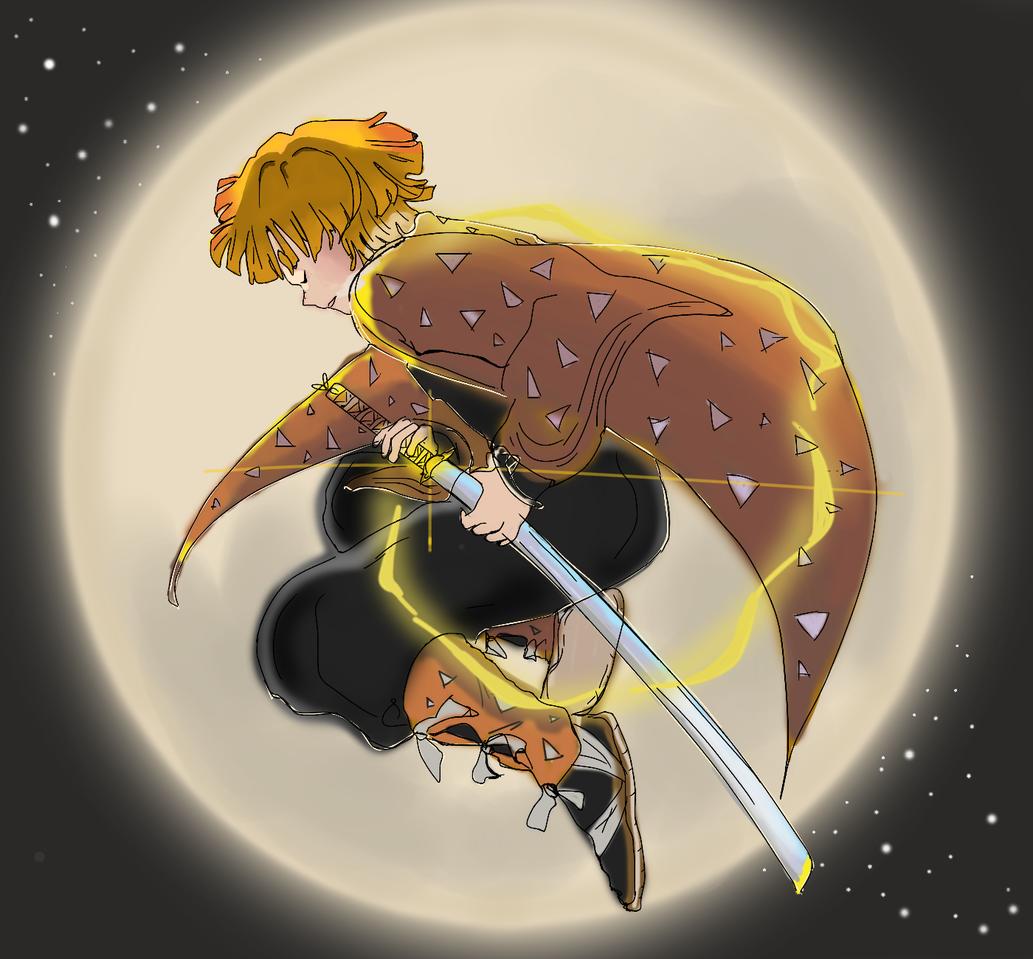 Zenitsu Illust of Emaan