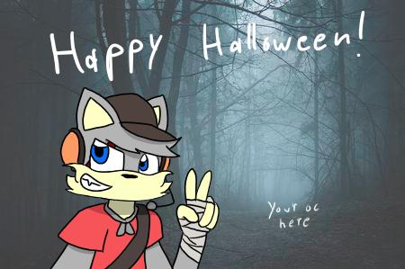 halloween collab Illust of Gaming Doge Halloween medibangpaint collab oc
