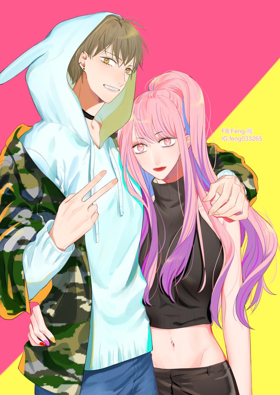無題 Illust of Feng pink pinkhair