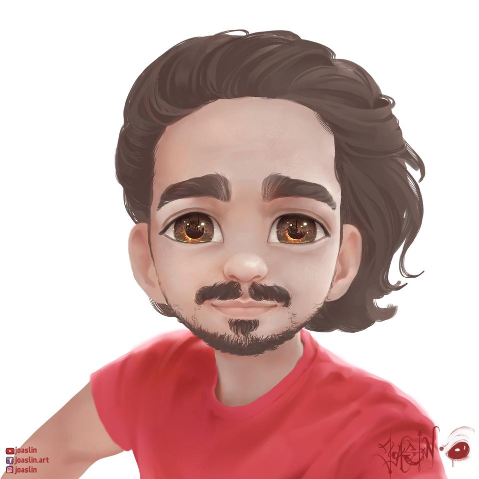 A man Illust of JoAsLiN ARTstreet_Ranking anime handsome illustration eyes boy original art Man oc digital
