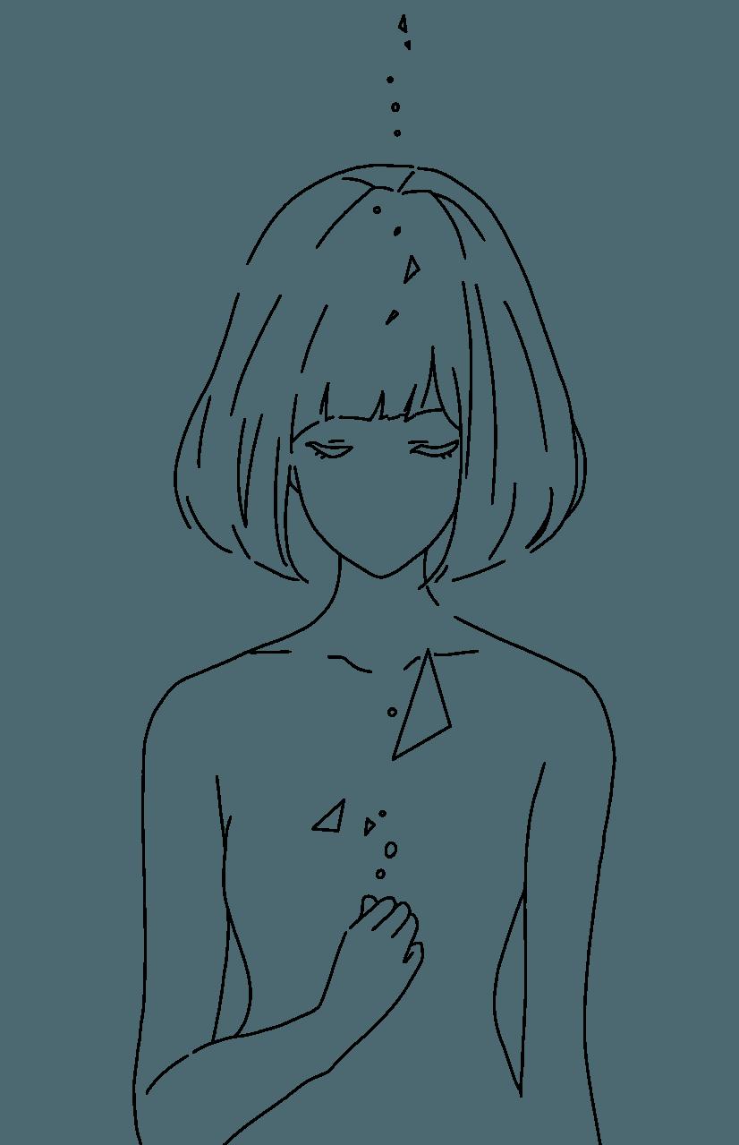 水彩風 Illust of 桜 宮美/サブ 水彩風 watercolor 桜宮美 line_art
