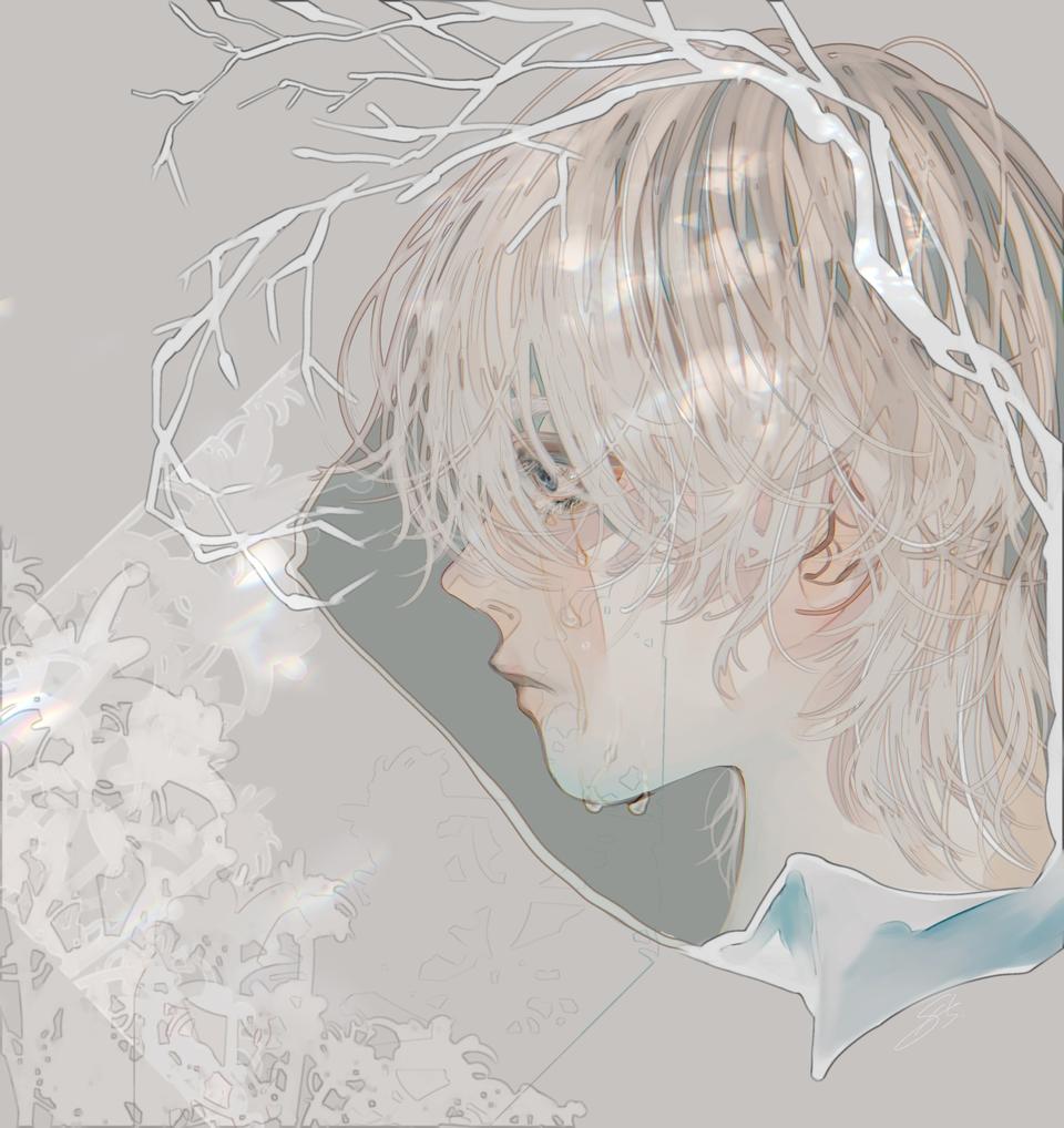 寂 Illust of 八 boy tears