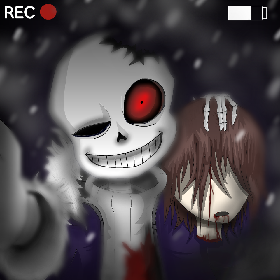 Horrortale Sans (Re Upload) - Dankus Memus   Illustrations